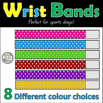 Wrist Bands for Sports Days
