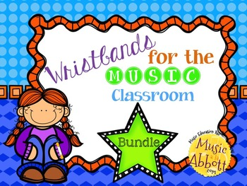 Wristbands: a Bundled Set for Use in the Music Classroom