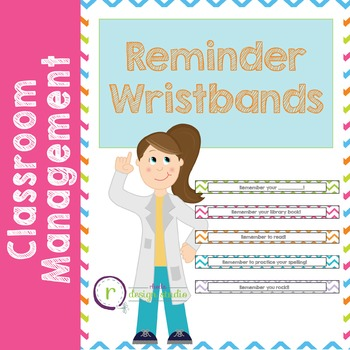 Paper Wristband Reminders Student Notes