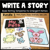 Write A Book - Bundle of 12 Simple Book Writing Projects for Emergent Writers