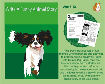 Write A Funny Animal Story (7-11 years)