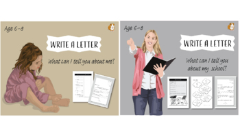 Write A Letter: Pack 1 (6-9 years)