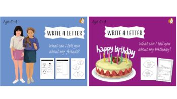 Write A Letter: Pack 2 (6-9 years)