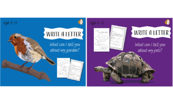 Write A Letter: Pack 3 (6-9 years)