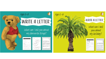 Write A Letter: Pack 4 (6-9 years)