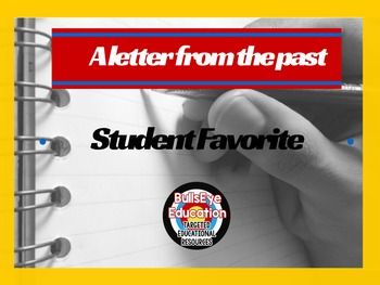 Write A Selfie - Letter To Yourself: Student Favorite