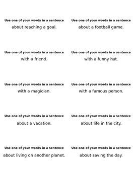 Write-A-Sentence!