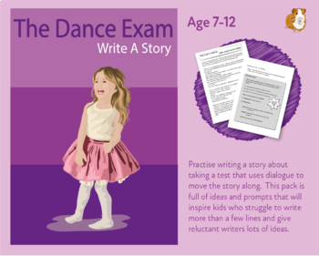 Write A Story About Taking A Test Or Exam (7-11 years)