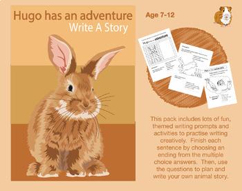 Write A Story Called 'Hugo Has An Adventure' (7-11 years)