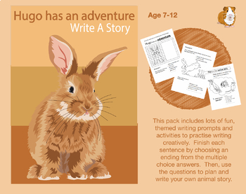 Write A Story Called 'Hugo Has An Adventure' (7-11 years)