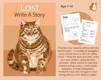 Write A Story Called 'Lost' (7-11 years)