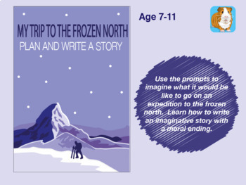 Write A Story Called 'My Trip To The Frozen North' (7-11 years)