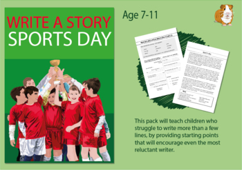 Write A Story Called 'Sports Day' (7-11 years)