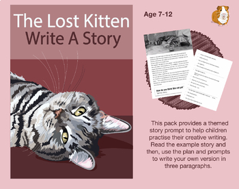 Write A Story Called 'The Lost Kitten' (7-11 years)