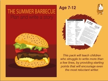 Write A Story Called 'The Summer Barbecue' 7-11 years)