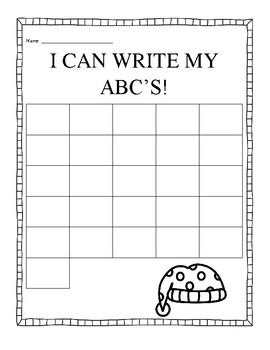 Write ABC's - Christmas Themed