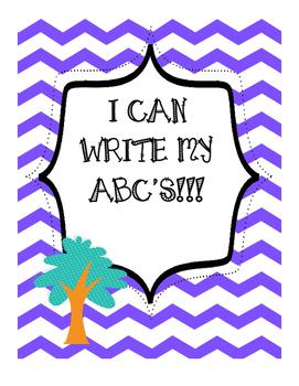 Write ABC's - Kid Fun Themed
