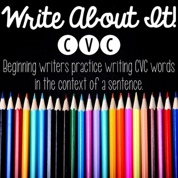 Write About It - CVC writing practice