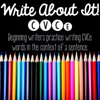 Write About It - CVCe writing practice