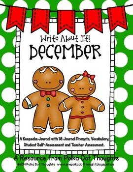 Write About It! December {Daily Keepsake Journal}