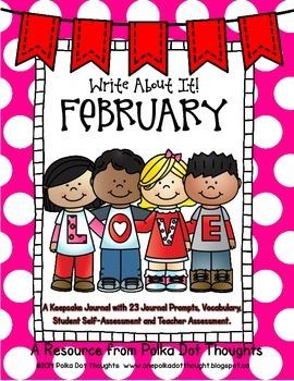 Write About It! February {Daily Keepsake Journal}