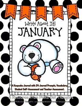 Write About It! January {Daily Keepsake Journal}