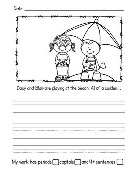 Write About It! June {Daily Keepsake Journal}