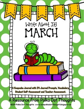 Write About It! March {Daily Keepsake Journal}