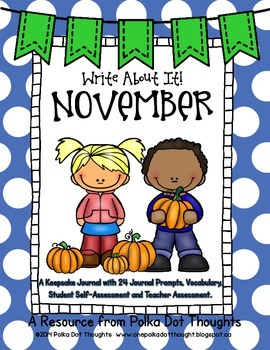 Write About It! November {Daily Keepsake Journal}