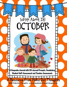 Write About It! October {Daily Keepsake Journal}
