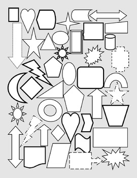 Write About It shapes page