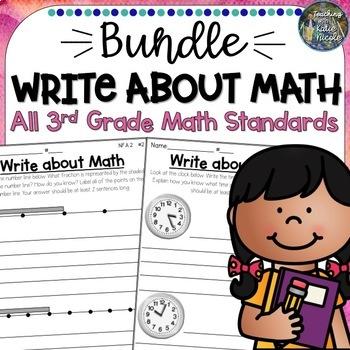 Write About Math: All Year Bundle