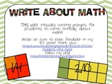 Write About Math: Fractions!