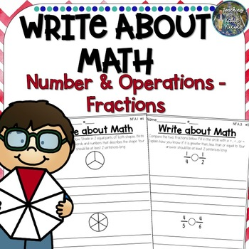 Write About Math Fractions