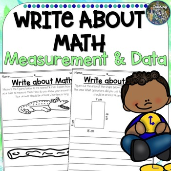 Write About Math Measurement and Data