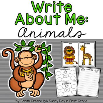 Write About Me: Animals
