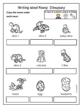 Write About Nouns: DINOSAURS