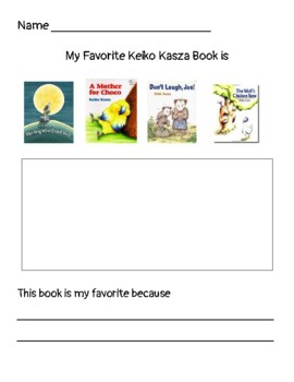 Write About Reading- Keiko Kasza