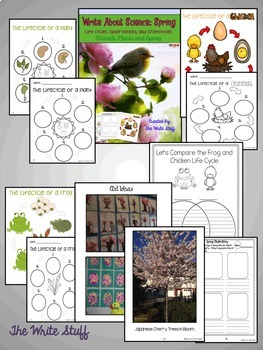 Write About Science: BUNDLE {Spring and Fall}