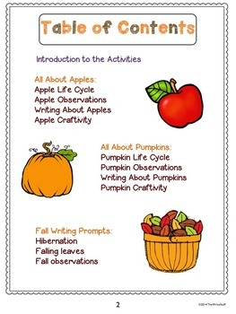 Fall Activities: Pumpkins and Apples