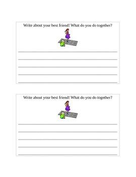 Write About Stuff! TEFL writing booklet