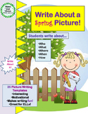 Write About a Spring Picture! Visual Writing Prompts - Gre