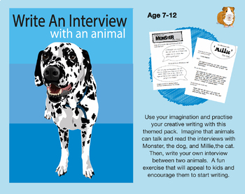 Write An Imaginary Interview With An Animal (7-11 years)