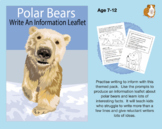 Write An Information Leaflet About Polar Bears (7-11 years)
