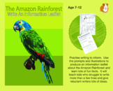 Write An Information Leaflet About The Amazon Rainforest (7-11 years)
