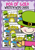 St Patrick's Day Math Center - Number Sequences