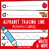 Prewriting Tracing Alphabet Activity