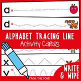 Prewriting Tracing Alphabet Activity