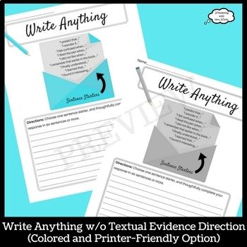 Write Anything