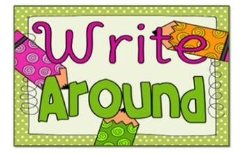 Write Around, Cooperative Writing Activty
